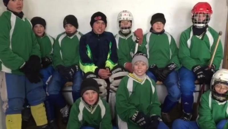 Хоккеисты Хоринского района
