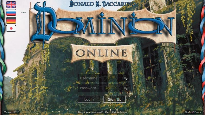 Ro256 первого официального онлайн турнира по Доминиону