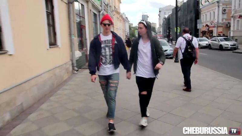 [ChebuRussiaTV] Избиение гомосексуалистов в России / Reaction to gays in Russia social experiment