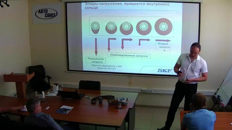 технический семинар по бренду SKF. Ч.2