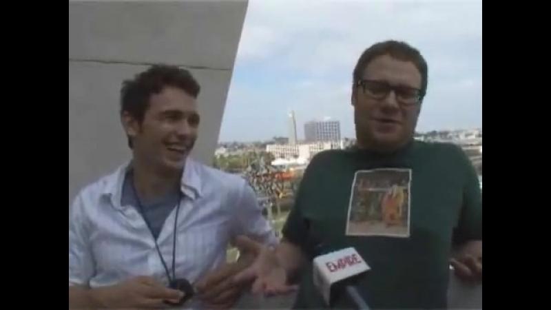 Comic Con 2008 Ананасовый экспресс Интервью