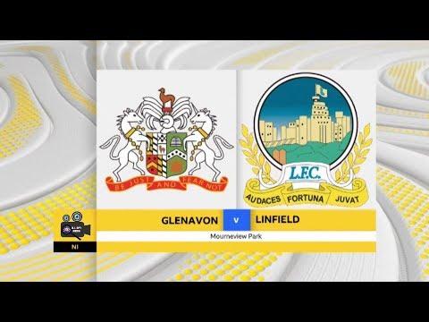 Glenavon Vs Linfield - 3rd April 2018