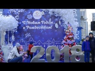 Детский праздник в ЖК Времена года, Анапа, 07.01.18г.