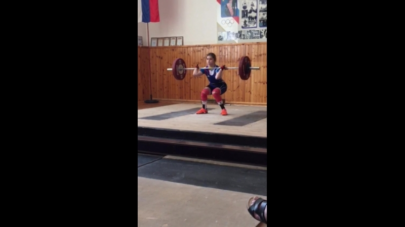 Щербакова Валерия толчок 64 кг Шахты 19 05 2018