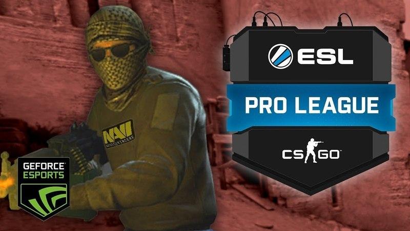 CS:GO - лучшие моменты Natus Vincere на ESL Pro League S7 Finals