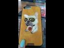 Чехол Nimmy iPhone X 6 7 8 6Plus 7Plus 8Plus Щенок Бульдога