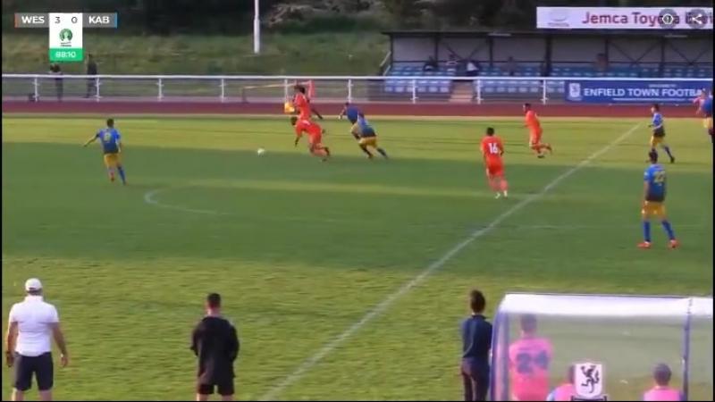 Голы сборной Западной Армении в ворота Кабилии