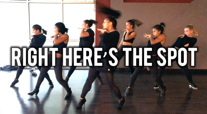 Right Heres The Spot feat Trinity Inay   @brianfriedman Choreo   KreativMndz