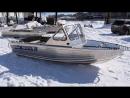 Алюминиевая моторная лодка Wyatboat-460DCM Pro, новая модель от компании Вятбот