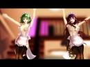 【R18】【MMD】東方の色っぽいSweetMagic【フィギュアエフェクト】