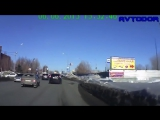 Accidents due to inexperience and carelessness of drivers, Ultimate Retardet Drivers Fails, russia