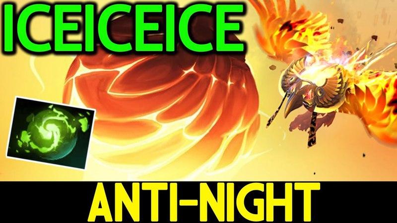 Iceiceice [Phoenix] Anti-Night Hero!! with Refresher 7.13 Dota 2