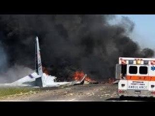 Military cargo plane crash in Savannah Georgia