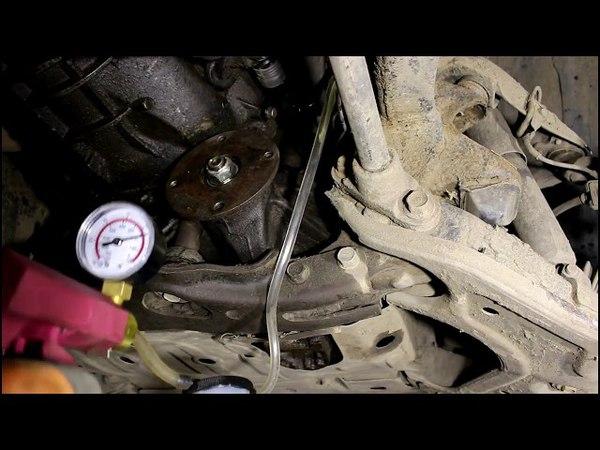 Замена рабочего цилиндра сцепления Ford Ranger 2 5 TURBO Форд Рейнджер 2007 года
