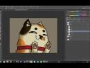 Рисуем котика для Бинго!