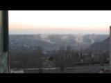 Горловка 13.02.2015 обстрел жилого района возле шахты 5, вид с 88 квартала