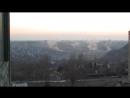 Горловка 13 02 2015 обстрел жилого района возле шахты 5 вид с 88 квартала