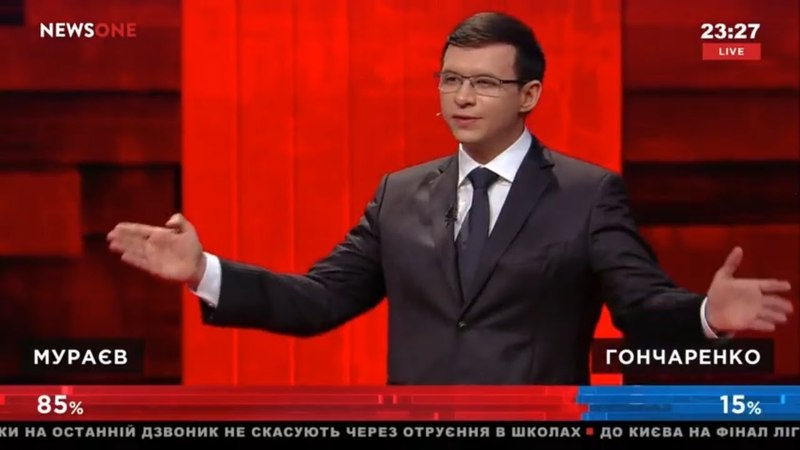 Мураев Выбирая верховного главнокомандующего вы выбираете билет на войну