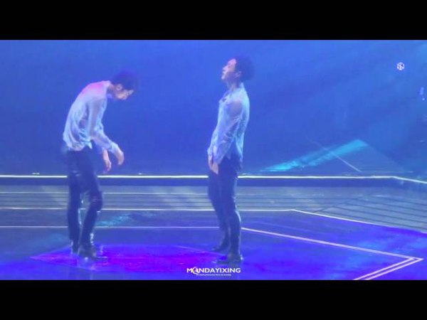 160730 EXO'rDIUM One and Only dance performance LAY focus