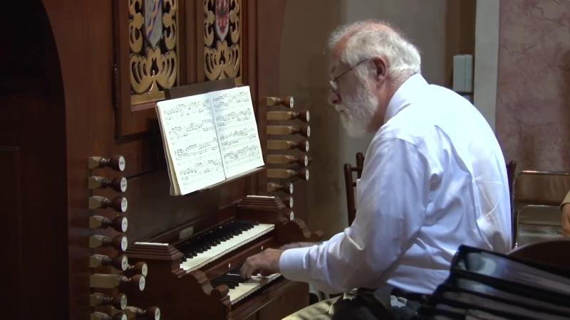 651 J. S. Bach - Chorale prelude Komm, heiliger Geist (Fantasia; Leipzig Chorales 1/18), BWV 651 - William Porter
