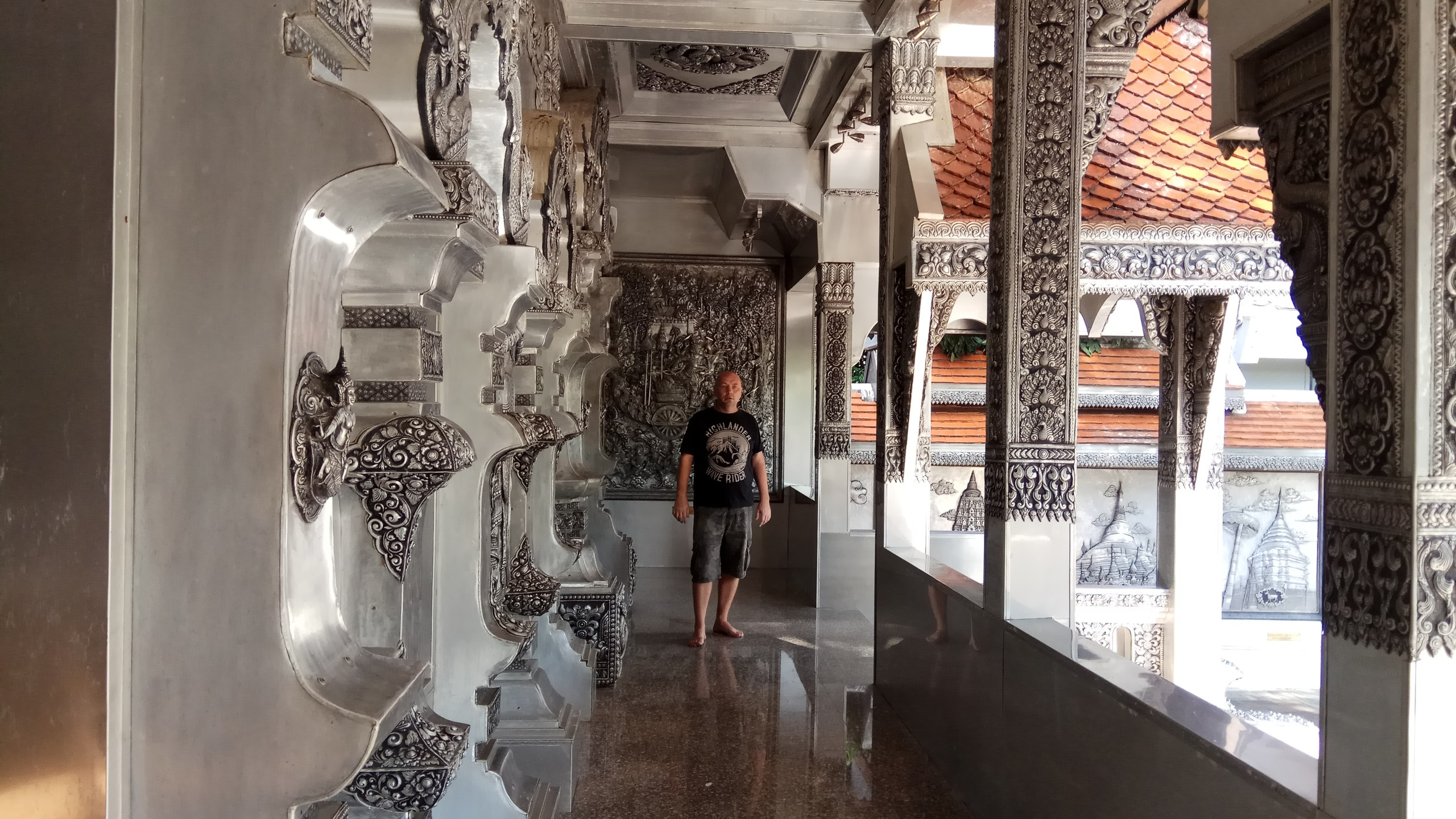 Таиланд Чианг Май Серебряный храм