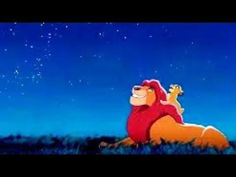 Великие короли прошлого глядят на нас с этих звёзд ¦ Момент из мультфильма Король Лев 1994
