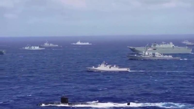 Авианосная ударная группа США приятно посмотреть - наслаждайтесь мощью 19 мин US Fleet.mp4