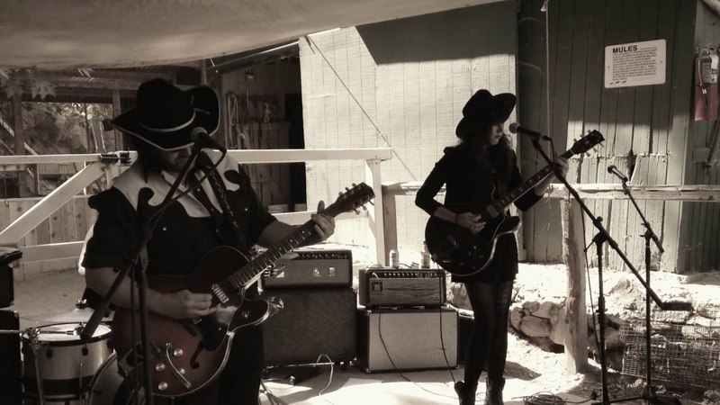 Ghosts Go West - SPINDRIFT live at the 8th Adams' Pack Station Barnyard Jamboree 9/4/16