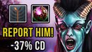 IMBA HERO about which all have forgotten, Epic Queen of Pain Gameplay Ranked Dota 2