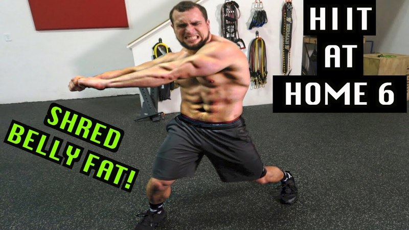 Intense 5 Minute Belly Fat Burning Cardio Abs Workout 6 | HIIT At Home!