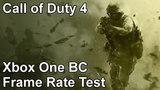 Call of Duty 4 Xbox One X vs Xbox One vs Xbox 360 Backwards Compatibility Frame Rate Test