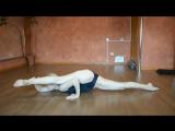 Marina, sexy flexible blonde