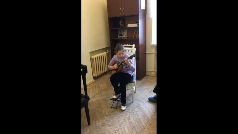 Софья Леонова 9 лет, Джойс « Осенний сон»