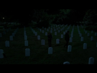 Mulder & Scully Search Through A Graveyard - Season 11 Ep. 2 - THE X-FILES