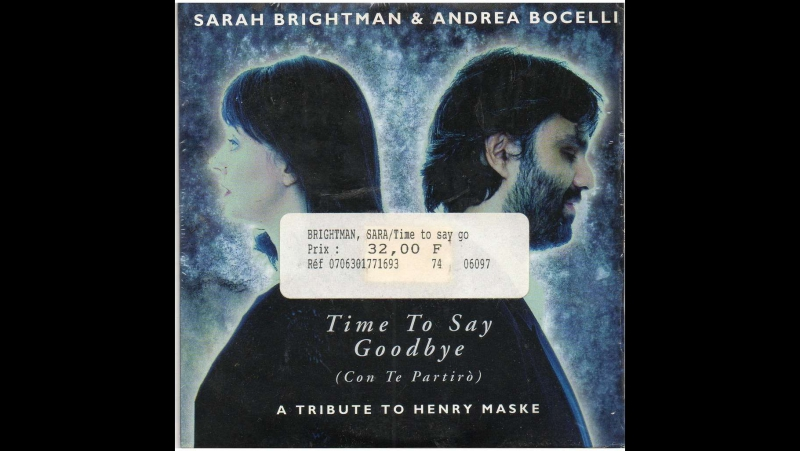 Andrea Bocelli and Sarah Brightman: Time To Say Goodbye (HD) Live From Teatro Del Silenzio, Italy / 2007