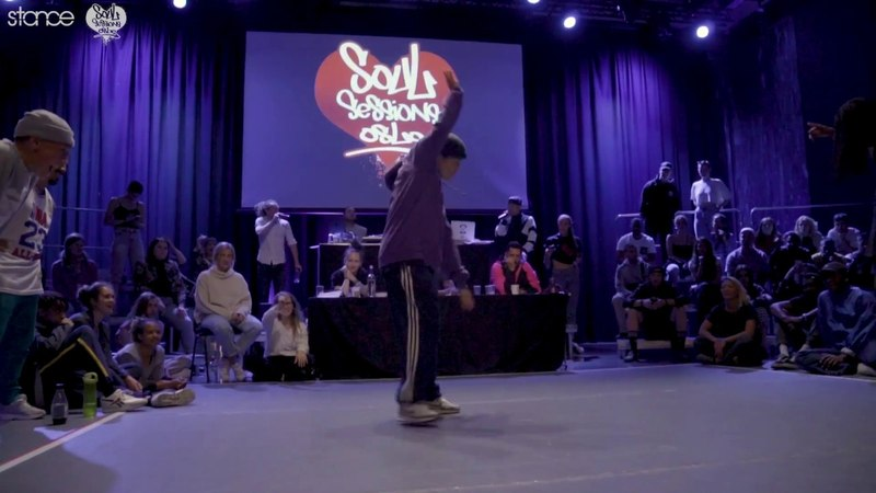 Marikken vs Jordan (hip hop semi) .stance Soul Sessions Oslo 2018 | Danceproject.info