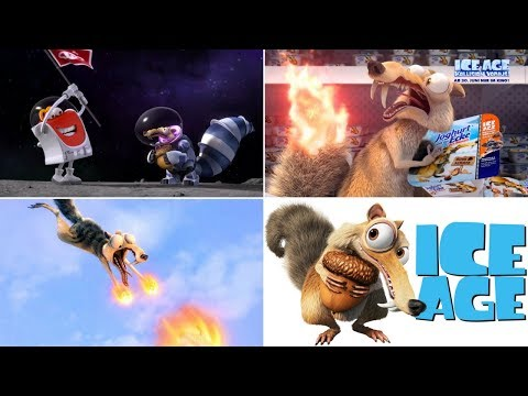13 The Best Ice Age Scrat Most Funny Commercials Ever
