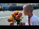 Дзень незалежнасці Украіны парад выбух і беларускія добраахвотнікі День независимости Украины Белсат