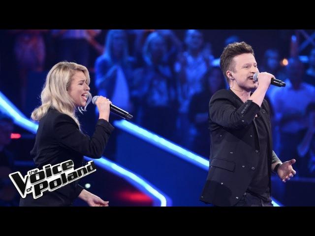 """Magdalena Janicka vs Łukasz Stojko - """"Z Tobą chcę oglądać świat"""" - Bitwy - The Voice of Poland 8"""