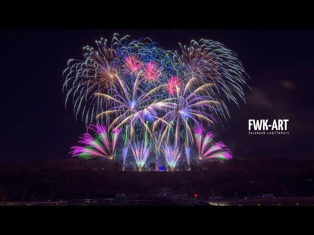 💥 Novoroční ohňostroj Praha 2018 (New Year's fireworks Prague) - Makalu Fireworks