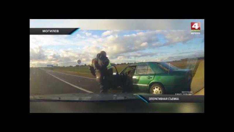 Житель Белыничей сел пьяный за руль и пытался скрыться от экипажа ГАИ