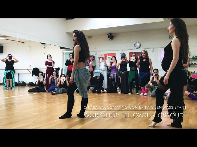 "CHIARA SACCOMANNO Workshop classical Egyptian song ""El oyoun Ossoud"" 2018"