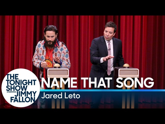 Name That Song Challenge with Jared Leto