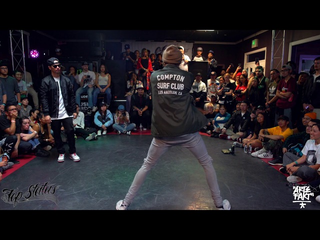 Slim Boogie vs Poppin John | Top Status (Top 8 Popping)