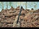 Коп по войне Война в болотах Зимний блиндаж 1 часть Searching with Metal Detector