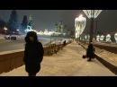 Прогулка по Большому Москворецкому мосту в 23 30