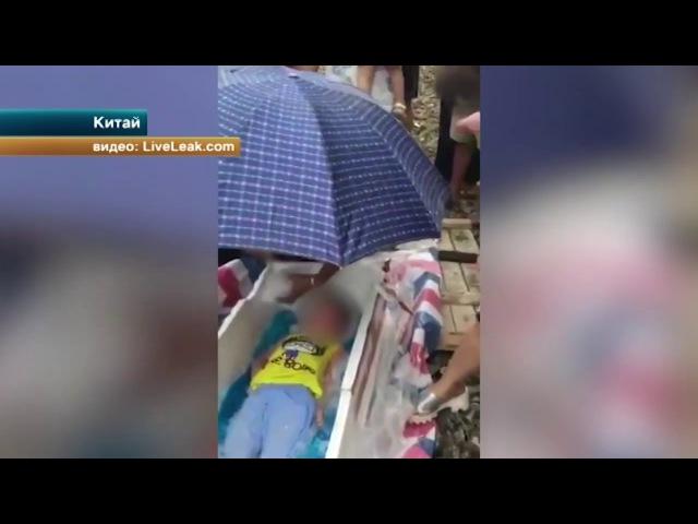 Изуверы заживо заморозили китайского ребенка, чтобы продать его органы