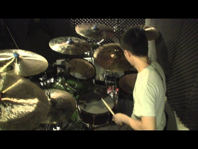 Born Of Osiris - Empire Erased (drum cover) by Wilfred Ho