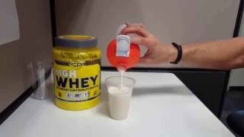 Протеин Steelpower High Whey. Плюсы и плюсы