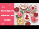 How to decorate Valentines Day Cookies.❤️